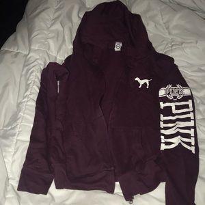 Victorias Secret PINK Zip Hoodie Jacket